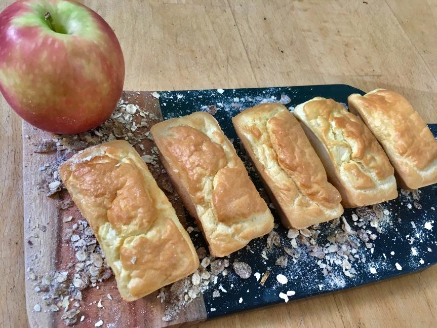 Le gâteauaux pommes (sans lactose – sans sucre raffiné – sans matièregrasse)